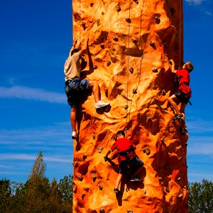 Climbing wall by http://www.flickr.com/photos/tonynewell/3907799460/